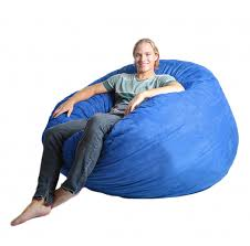 King Fuf Bean Bag Chair by Amazon Com Slacker Sack 5 Feet Foam Microsuede Beanbag Chair