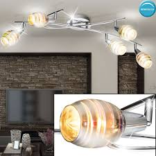 beleuchtung led deckenstrahler drehbar dimmer wohnzimmer 3d