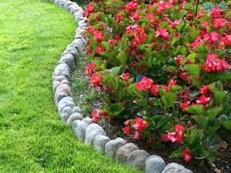 Border Ideas For Flower Bedsimage Detail For Rock Border Around A