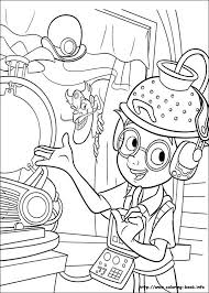 82 Best Disney Meet The Robinsons Coloring Pages Images On