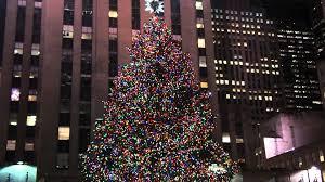 Rockefeller Plaza Christmas Tree by Rockefeller Center Christmas Tree 2011 Youtube