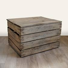 Crate With Fitted Lid