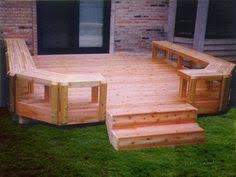 ground level deck plans and instructions home outdoor living
