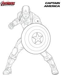 Civil War Coloring Book 53 In Addition To Captain Pages Kids