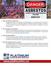 Asbestos In Popcorn Ceilings Canada by Asbestos Removal And Abatement Calgary Alberta Canada