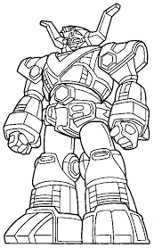 Power Rangers Coloring Page Print Pictures