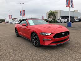 100 Rgv Truck Performance Used 2019 Ford Mustang For Sale McAllen Mission TX VIN