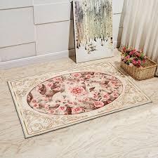 europe style fleurs plantes tapis tapis pour chambre salon tapis