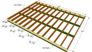Floor Joist Spacing Shed by Zspmed Of Shed Floor Plans Good About Remodel Small Home Remodel