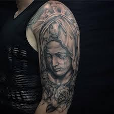 75 Best Spiritual Virgin Mary Tattoo