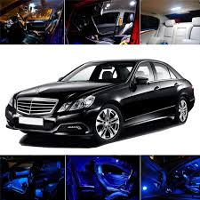 2003 - 2009 Mercedes W211 E-Class 14pcs Full LED Interior Lights ...