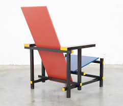 blue chair by gerrit rietveld for cassina 1970s for sale at