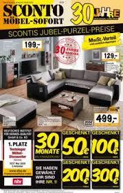 sconto möbel prospekt küchen und möbel günstig kaufen