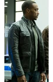sam wilson leather jacket captain america civil war anthony