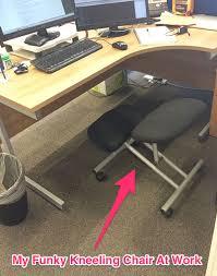 Ergonomic Office Kneeling Chair For Computer Comfort by Why The Ergonomic Kneeling Chair Will Save Your Back Weak Back