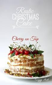 Rustic Christmas Cake 3