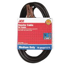 100 Tow Truck Jumper Cables Ace 12 Ft 10 Ga Cable 200 Amps Ace Hardware