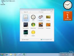 gadget de bureau windows 8 configure desktop gadgets in windows 7 windows 7