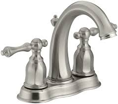 Kohler Devonshire Faucet Brushed Nickel by Kohler K 13490 4 Bn Kelston Center Set Bathroom Sink Faucet