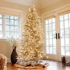 Frasier Christmas Tree by Pre Lit Layered Platinum Frasier Fir Christmas Tree By Sterling