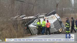 Truck Rollover Shuts Down Union St. In Chili