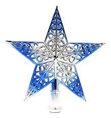 Christmas Tree Amazonca by Eozy Christmas Tree Top Sparkle Stars Glitter Tree Topper Star