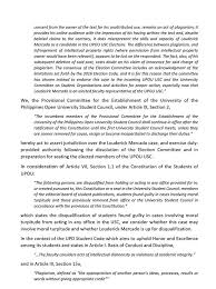 Provisional mittee UPOU University Student Council