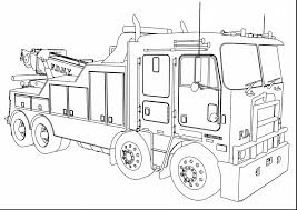 Amazing Kenworth Wrecker Fire Truck Coloring Page Wecoloringpage ...