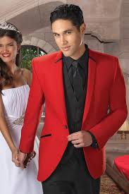 Wedding Red Suits
