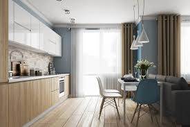 küchenformen kombiniert mit einem wohnzimmer 31 fotos p