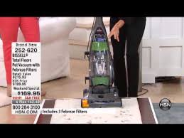 bissell total floors pet vacuum with febreze filters youtube
