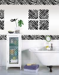 Zebra Print Bathroom Accessories Canada by Interesting 30 Zebra Print Bathroom Decor Set Decorating