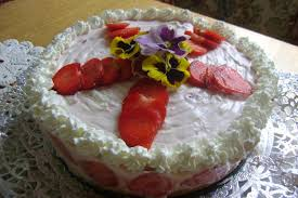 erdbeer mascarpone joghurt topfen sahne torte
