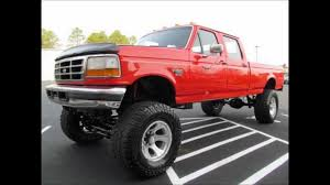 100 F350 Ford Trucks For Sale 1995 XLT Diesel Lifted Truck YouTube