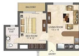 Stupendeous Studio Apartment Floor Plans Uses Brilliant Idea