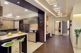 Chirag Shah Sample Flat At Vadodara Bedroom Kitchen