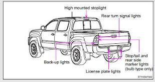 toyota tacoma owners manual light bulbs do it yourself
