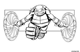 Coloriage Tortue Ninja A Imprimer Coloriages T 12991 With Dessin