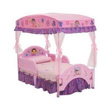 beautiful dora the explorer toddler bed with canopy 25 about
