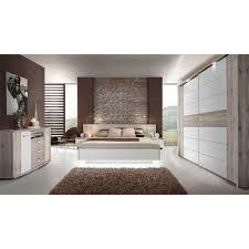 forte rondino 3 komplettset schlafzimmer sandeiche weiß