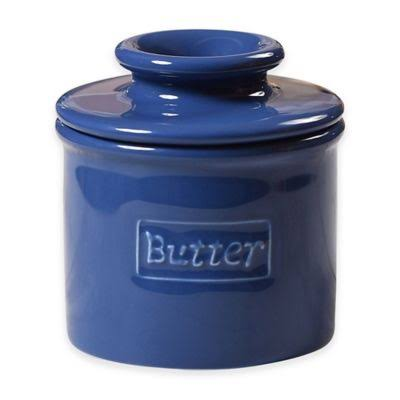 The Original Butter Bell Crock - Royal Blue