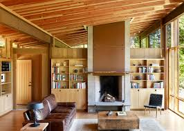100 Wooden Houses Interior Cutler Anderson Builds Wooden House Over An Oregon Pond