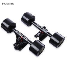 Aliexpress.com : Buy 1 Pair PUENTE Skateboard Truck Durable ...
