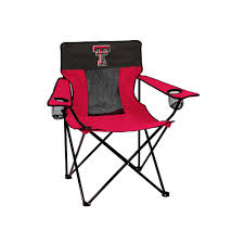 Camping Chair With Footrest Australia by Ncaa Outdoor Logo Brand Texas Tech Red Raiders Elite Fold Up Chair