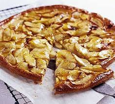 Flat Apple Vanilla Tart