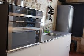 cuisine au micro ondes cuisine micro onde élégant meuble cuisine four et micro de colonne