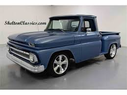 1964 Chevrolet C10 For Sale | ClassicCars.com | CC-1050385 Chevy C10 Pickup Twin Turbo Blown Pro Hot Street Gasser Rod 1964 Chevrolet For Sale On Classiccarscom Stepsideclean Bagged 22sshortbox Bangshiftcom Chevy Detroit Diesel Ck Trucks Sale Near Los Angeles California 1965 Long Bed Donor And Short Builder 2 1960 1966 Panel Only The 1947 Present Cc701300 El Camino Resto Mod Used Fleetside At Webe Autos Serving Long Pickup Bagged Youtube
