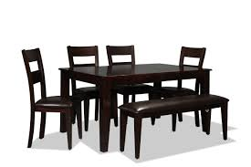100 Cherry Table And 4 Chairs Urban View And Side Dark