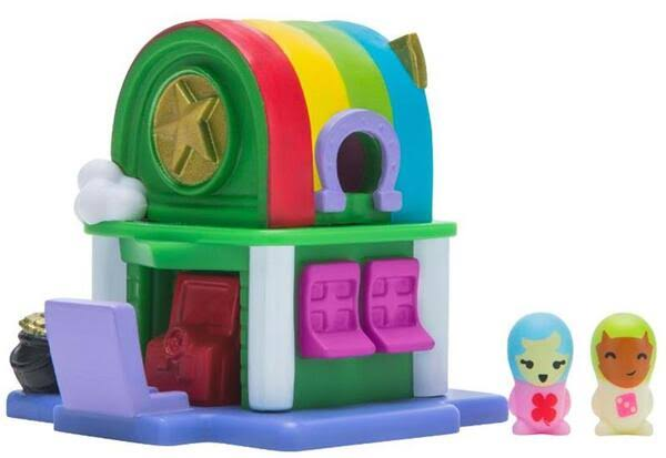 Nanables Make It Rain-Bow Arcade .5-Inch Mini Playset