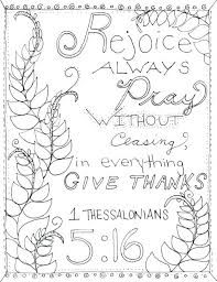 Full Image For Childrens Bible Coloring And Activity Pages Catholic 1 Thessalonians